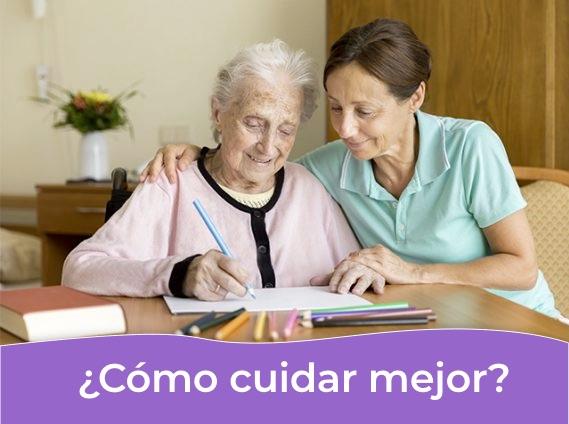 Cuidado de Alzheimer en la enfermería para personas mayores en geriátricos de CABA