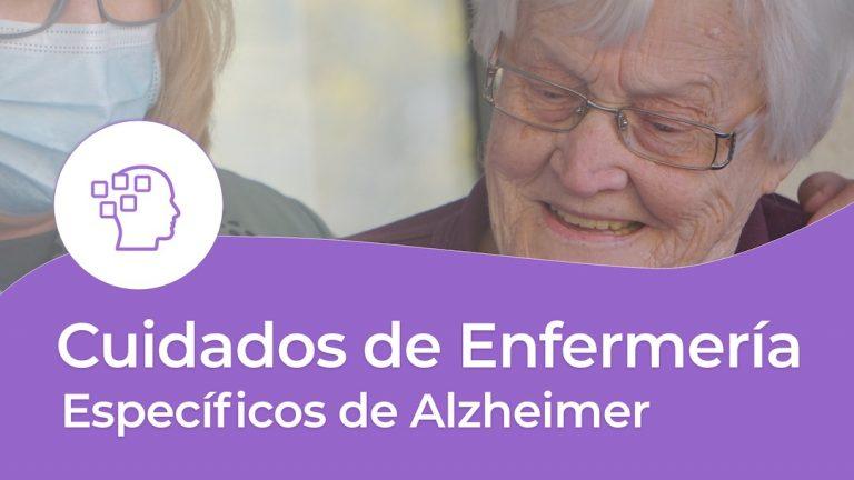 Cuidados de Enfermería específicos de Alzheimer