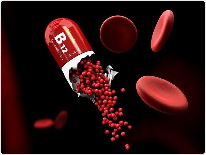 Demencia por deficit de vitamnia B 12