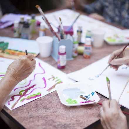 actividades con adultos mayores en geriatricos