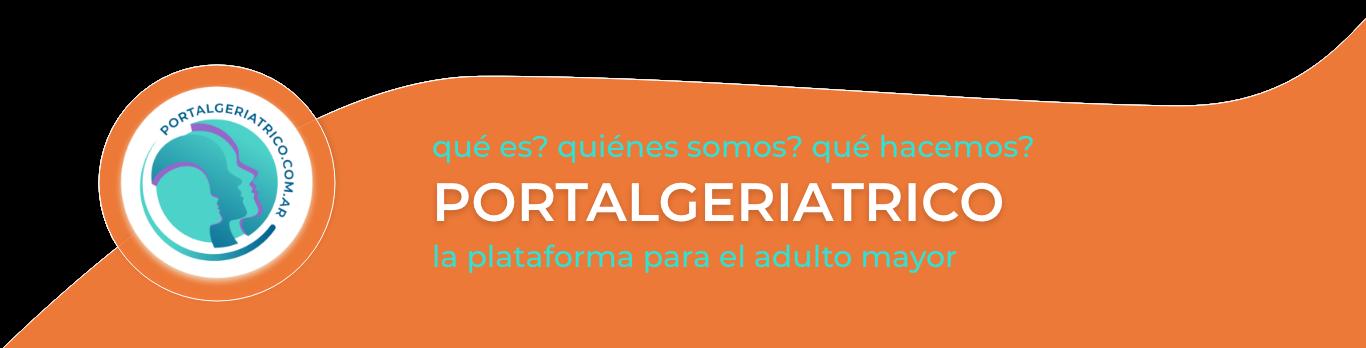 Quienes somos el PORTALGERIATRICO
