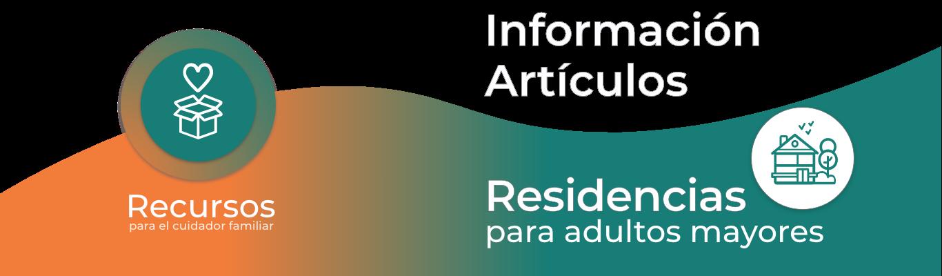 RECURSOS DE RESIDENCIAS y GERIATRICOS PARA ADULTOS MAYORES
