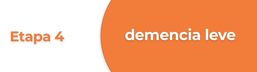 Caracteristica de demencia leve de Alzheimer