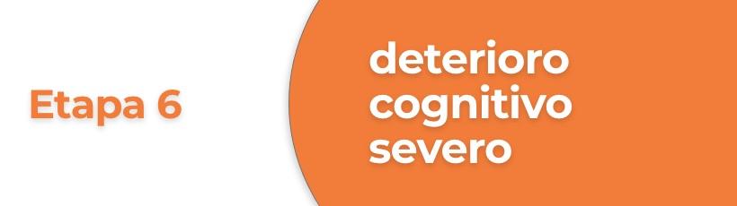 Deterioro severo de alzheimer para adultos mayores