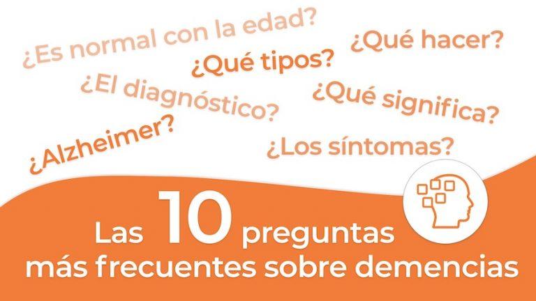 Las 10 preguntas mas frecuentes sobre el Alzheimer