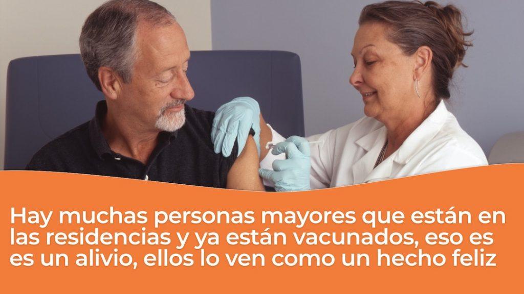 Vacunacion en residencias geriatricas