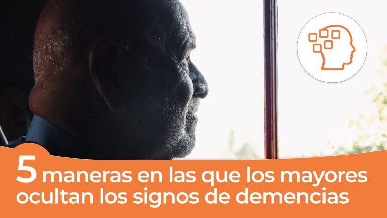 Demencias: 5 maneras en las que los adultos mayores ocultan sus signos