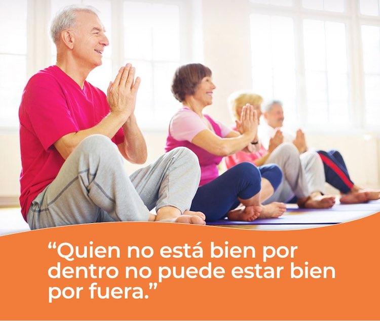 El equilibrio en la persona mayor permite un buen desempeño en las residencias para personas mayores