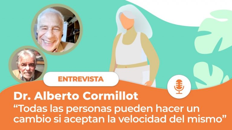 Cormillot:  «Todas las personas pueden realizar un cambio si aceptan la velocidad con que están dispuestas a que ese cambio ocurra».