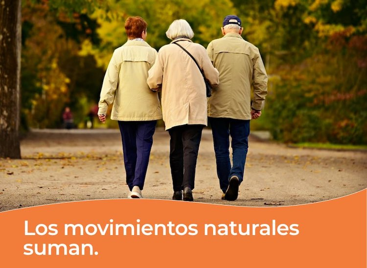 Los movimientos naturales suman en geriatricos como en el dia a dia de residencias