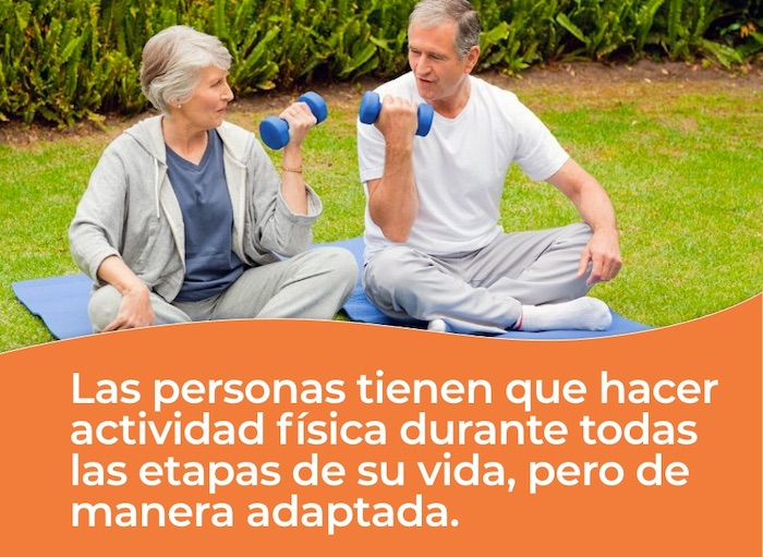 Personas mayores tienen que hacer actividad física durante la vida